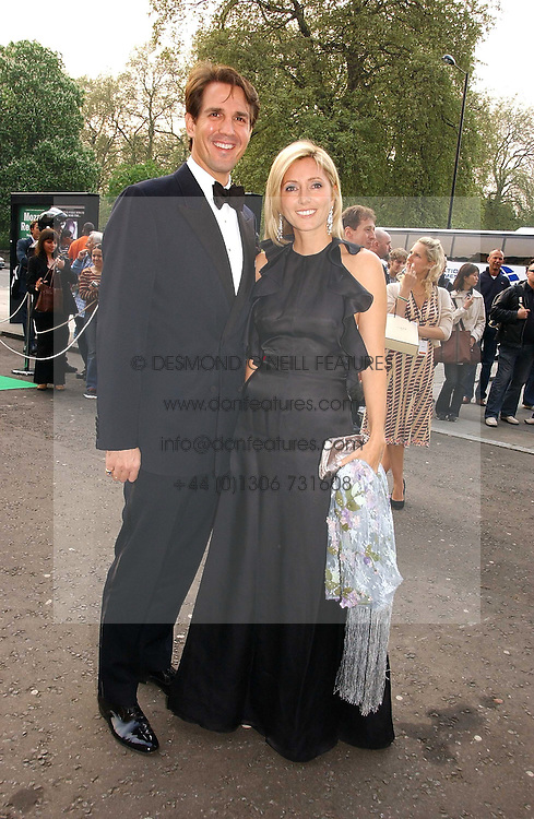 CROWN PRINCE PAVLOS and PRINCESS MARIE CHANTAL OF GREECE at the NSPCC's Dream Auction held at The Royal Albert Hall, London on 9th May 2006.<br />