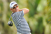 Louis Oosthuizen during the first round of the World Golf Championship Cadillac Championship on the TPC Blue Monster Course at Doral Golf Resort And Spa on March 8, 2012 in Doral, Fla. ..©2012 Scott A. Miller.