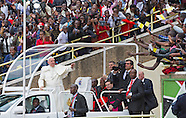 Pope Francis Receives Rousing Welcome