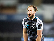 Marty McKenzie of Ospreys<br /> <br /> Photographer Simon King/Replay Images<br /> <br /> Guinness PRO14 Round 8 - Ospreys v Cardiff Blues - Saturday 21st December 2019 - Liberty Stadium - Swansea<br /> <br /> World Copyright © Replay Images . All rights reserved. info@replayimages.co.uk - http://replayimages.co.uk