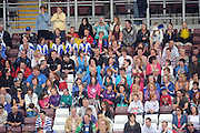 Crowds at Finals at Pearse Stadium in the Féile na nGael 2011. Photo:Andrew Downes.