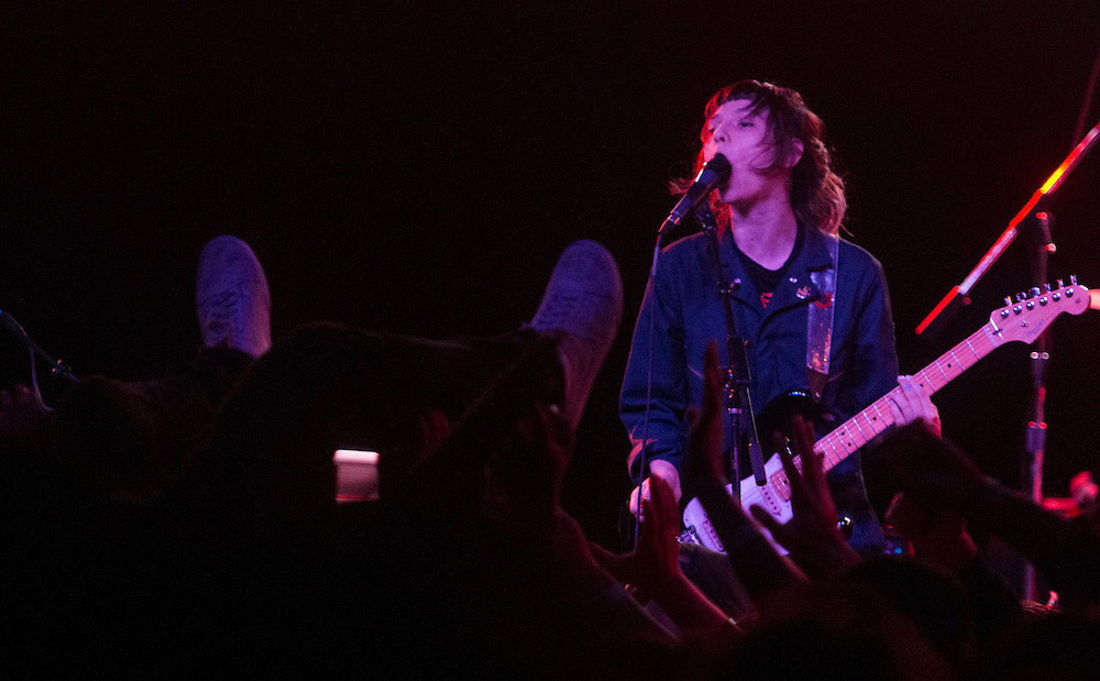 Cherry Glazerr performing at The Glass House in Pomona, CA December 29, 2016.