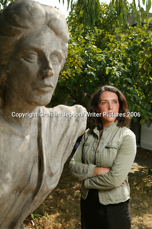 Bettany Hughes, writer in her London home<br />