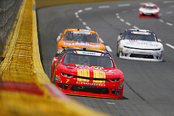 May 26, 2018 - Concord, North Carolina, United States of America - Justin Allgaier (7) brings his car through the turns during the Alsco 300 at Charlotte Motor Speedway in Concord, North Carolina. (Credit Image: © Chris Owens Asp Inc/ASP via ZUMA Wire)