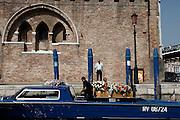 Venice, funeral boat