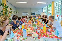 Laatste schooldag Marlies, Hilversum, Netherlands