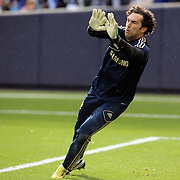 Goalkeeper Henrique Hilario, Chelsea, during the Manchester City V Chelsea friendly exhibition match at Yankee Stadium, The Bronx, New York. Manchester City won the match 5-3. New York. USA. 25th May 2012. Photo Tim Clayton