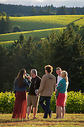 Swine & Wine alfresco dining experience at Archery Summit's Red Hills Estate Vineyard with The Gilt Club's acclaimed Executive Chef, Chris Carrikerevent at Dundee Hills, Willamette Valley, Oregon