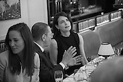 PIPPA MIDDLETON; JONATHAN NEWHOUSE; ELIZABETH MCGOVERN, Vanity Fair Lunch hosted by Graydon Carter. 34 Grosvenor Sq. London. 14 May 2013