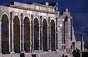 The Roman remains at Volubilis, Morocco