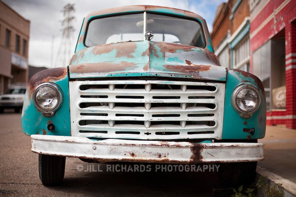 Bisbee Arizona Old Truck Jill Richards Photography - Bisbee car show