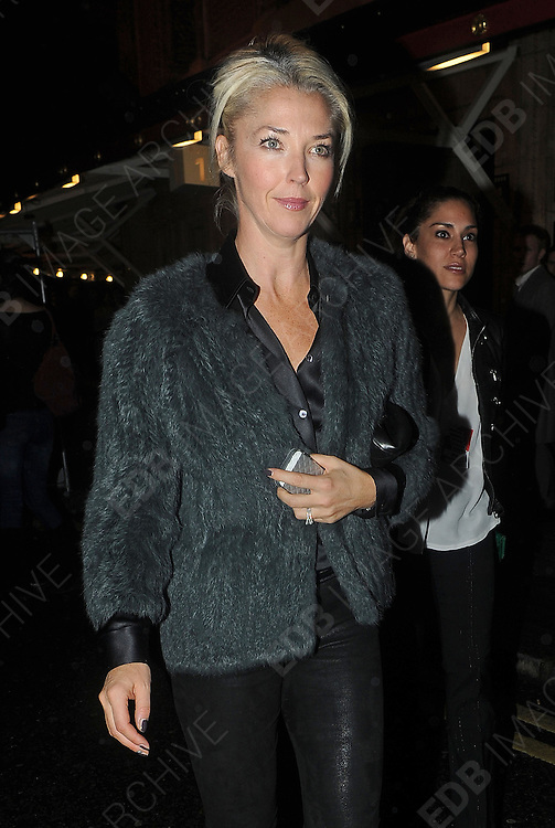 22.OCTOBER.2012. LONDON<br /> <br /> TAMARA BECKWITH LEAVING THE ROYAL ALBERT HALL AFTER WATCHING THE JOAN RIVERS GIG<br /> <br /> BYLINE: EDBIMAGEARCHIVE.CO.UK<br /> <br /> *THIS IMAGE IS STRICTLY FOR UK NEWSPAPERS AND MAGAZINES ONLY*<br /> *FOR WORLD WIDE SALES AND WEB USE PLEASE CONTACT EDBIMAGEARCHIVE - 0208 954 5968*