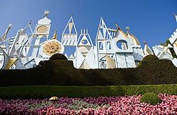 It's a Small World ride and attraction, Disneyland Resort, Anaheim, California, United States of America.