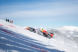 14.01.2016, Hahnenkamm, Kitzbühel, AUT, FIA, Formel 1, Projekt Spielberg Showrun, im Bild Showrun mit Max Verstappen (NED) Red Bull Racing RB7 // Max Verstappen of Netherlands on Red Bull Racing RB7 during the Project Spielberg Showrun at Hahnenkamm in Kitzbuehel, Austria on 2016/01/14. EXPA Pictures © 2016, PhotoCredit: EXPA/ Johann Groder