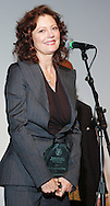 PHILADELPHIA - APRIL 5:  Academy Award Winning Actress Susan Sarandon accepts the 2006 Artistic Achievement Award onstage during the 2006 Philadelphia Film Festival April 5, 2006 in Philadelphia, Pennsylvania. The festival runs through April 11, 2006. (Photo by William Thomas Cain/Getty Images)