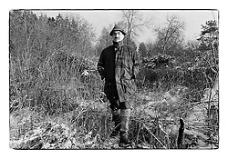 *En_Cechoslovakia, 1991, Lany -  K.Schwarzenberg on the  hunt  in Lany district                            *Cz_K. Schwarzenberg na honu v Lanech