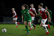 Yeovil midfielder Ellie Leigh Mason during the FA Women's Super League match between Arsenal Women and Yeovil Town Women at Meadow Park, Borehamwood, United Kingdom on 20 February 2019.