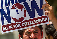 Immigration reform rally in Los Angeles