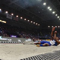 at the IAAF World Indoor Championships, March 3, 2018