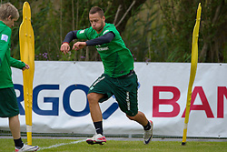 04.07.2011, An der Muehle, Norderney, GER, 1.FBL, Trainingslager Werder Bremen, morgendliche Strandlauf bei einer steifen Brise, im Bild Marko Arnautovic (Bremen #7).  // during trainingsession from Werder Bremen 2011/07/03    EXPA Pictures © 2011, PhotoCredit: EXPA/ nph/  Kokenge       ****** out of GER / CRO  / BEL ******