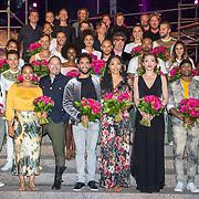 NLD/Rosmalen/20190620 - Aida in concert, Tony Neef, Freek Bartels, April Darby en Willemijn Verkaik met de cast van Aida