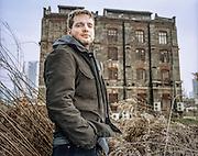CHINA / Shanghai  /  Thomas Charveriat<br /> <br /> Art dealer and manager Thomas Charveriat of Gallery Island in Moganshan Lu , Shanghai<br /> <br /> &copy; Daniele Mattioli / Anzenberger