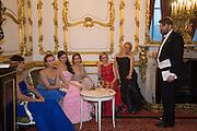 ASYA KOSHKARBAYEVA; ALENA KERESHUN; NATALIA ZHIGULINA; JOLANTA PETREVIC; ILONA BAVKINA; NINA SOFONOVA; ALEXANDER SUSCHENKO; , The 20th Russian Summer Ball, Lancaster House, Proceeds from the event will benefit The Romanov Fund for RussiaLondon. 20 June 2015