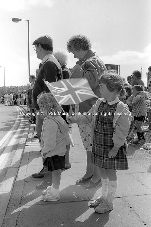 99th Yorkshire Miners Gala. 1986 Doncaster.