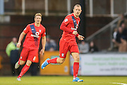 York City midfielder Luke Summerfield  during the Sky Bet League 2 match between Bristol Rovers and York City at the Memorial Stadium, Bristol, England on 12 December 2015. Photo by Simon Davies.