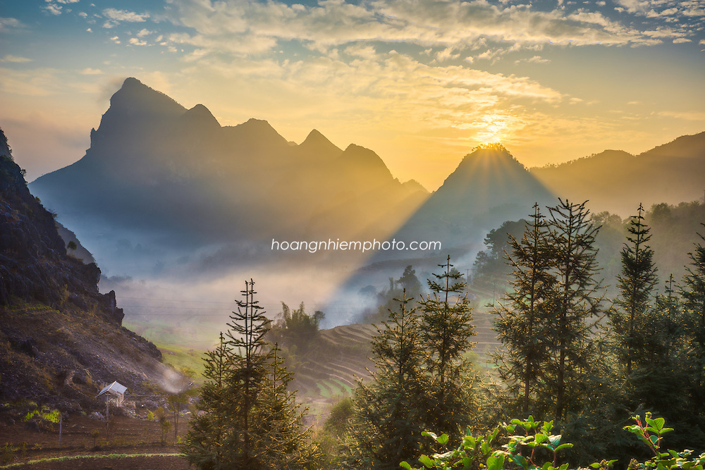 Vietnam Images-landscape-phong canh-Ha Giang