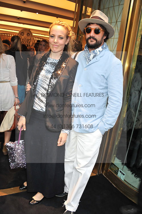 BAY GARNETT and TOM CRAIG at a party to celebrate the launch of the Vogue Fashion's Night Out held at Mulberry, Bond Street, London on 6th September 2012.