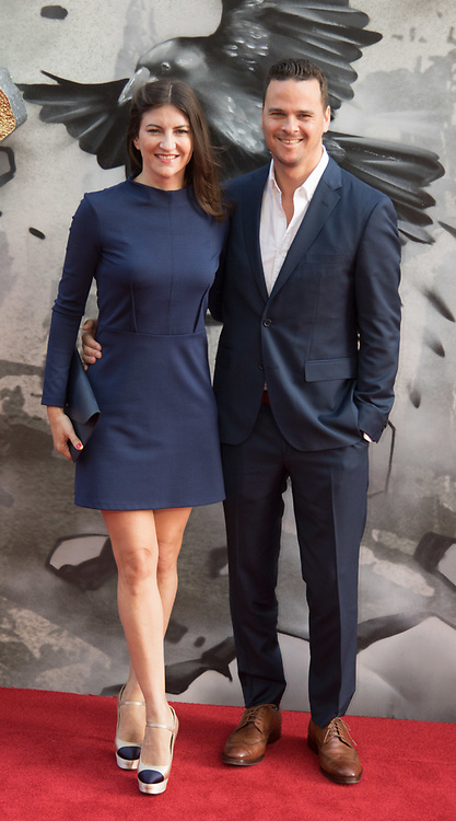 London, May 10th 2017. Joby Harold and Tory Tunnell attend the European premiere of King Arthur - Legend of the Sword at the Cineworld Empire in Leicester Square.