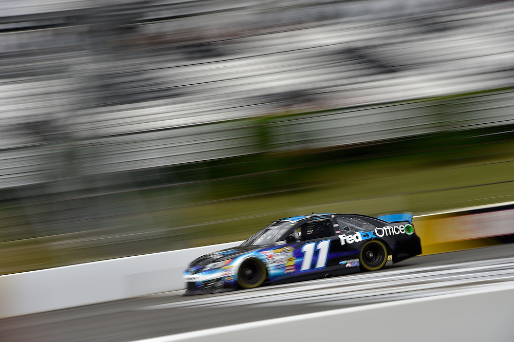 1-3 August, 2014, Long Pond, Pennsylvania USA<br /> Denny Hamlin, FedEx Office Toyota Camry<br /> &copy;2014, Scott R LePage <br /> LAT Photo USA