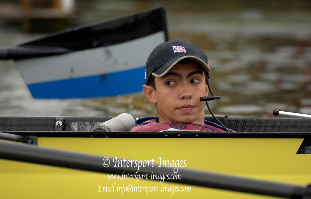 2005 Henley Royal Regatta, Henley on Thames, ENGLAND. Tuesday 29.06.2005 Imperial cox Seb Pearce .Photo  Peter Spurrier. .email images@intersport-images..[Mandatory Credit Peter Spurrier/ Intersport Images] . HRR.