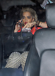 Rita Ora leaving the War Child BRITs Show 2013 concert at the O2 Shepherd's Bush Empire in London, UK. 18/02/2013<br />BYLINE MUST READ : GOTCHAIMAGES.COM<br /><br />Copyright by © Gotcha Images Ltd. All rights reserved.<br />Usage of this image is conditional upon the acceptance <br />of Gotcha Images Ltd, terms and conditions available at<br />www.gotchaimages.com