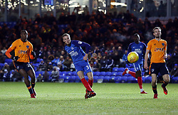 George Cooper of Peterborough United scores on his debut to make the score 2-0 - Mandatory by-line: Joe Dent/JMP - 20/01/2018 - FOOTBALL - ABAX Stadium - Peterborough, England - Peterborough United v Oldham Athletic - Sky Bet League One