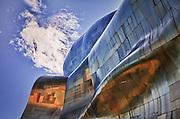 USA, Washington, Seattle. Experience Music Project museum.