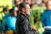 Forest Green Rovers manager, Mark Cooper during the Vanarama National League match between Forest Green Rovers and Sutton United at the New Lawn, Forest Green, United Kingdom on 9 August 2016. Photo by Shane Healey.