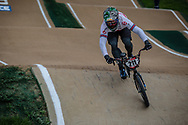 #211 (EVANS Kyle) GBR at Round 2 of the 2020 UCI BMX Supercross World Cup in Shepparton, Australia.
