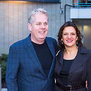 NLD/Utrecht/20130925 - Opening NFF 2012 - premiere Hoe Duur was de Suiker, Thomas Acda en partner Esmee Wekker