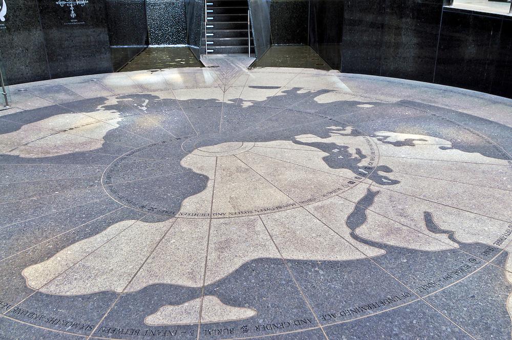 African Burial Ground National Monument, Manhattan,New York City, New York, USA