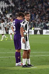 September 20, 2017 - Turin, Italy - Juventus forward Paulo Dybala (10) during the Serie A football match n.5 JUVENTUS - FIORENTINA on 20/09/2017 at the Allianz Stadium in Turin, Italy. (Credit Image: © Matteo Bottanelli/NurPhoto via ZUMA Press)