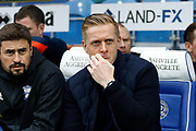 Birmingham City manager / Head Coach Garry Monk during the EFL Sky Bet Championship match between Queens Park Rangers and Birmingham City at the Loftus Road Stadium, London, England on 28 April 2018. Picture by Andy Walter.