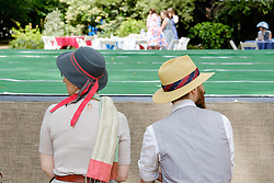 The Chap Olympiad - this world famous event is a 'celebration of eccentricity, sporting ineptitude and immaculate trouser creases'. Bedford Square, London 2014