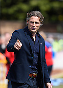 Wycombe player manager Gareth Ainsworth during the Sky Bet League 2 match between Wycombe Wanderers and Accrington Stanley at Adams Park, High Wycombe, England on 30 April 2016. Photo by David Charbit.