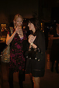 TUULI SHIPSTER AND KERI OLSEN, Champagne reception celebrating 100 years of Chinese cinema  hosted by Hamish McAlpine of Tartan Films, Raising money for Care For Children, a foster care programme in China. Aspreys. New Bond St. London. 25 April 2006. ONE TIME USE ONLY - DO NOT ARCHIVE  © Copyright Photograph by Dafydd Jones 66 Stockwell Park Rd. London SW9 0DA Tel 020 7733 0108 www.dafjones.com