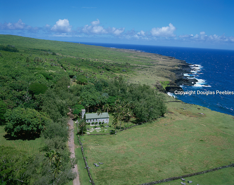 Father Damien's Church, North Shore Molokai, Hawaii, USA<br />