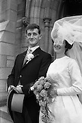 "05/09/1962<br /> 09/05/1962<br /> 05 September 1962<br /> Wedding of Fergus Keogh of ""Eagleville"", Strandville Avenue, Clontarf, Dublin to Miss Miriam Caffrey, Church Avenue, Drumcondra Dublin at the Church of the Visitation of the BVM, Fairview with reception at St. Lawrence Hotel, Howth. Mr. keogh was full-back for Bective Rangers at the time."