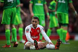 Kieran Gibbs of Arsenal - Mandatory byline: Jason Brown/JMP - 07966386802 - 09/01/2016 - FOOTBALL - Emirates Stadium - London, England - Arsenal v Sunderland - The Emirates FA Cup