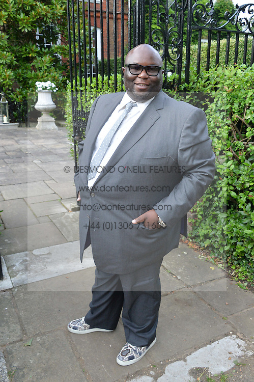 ADE attending Annabel Goldsmith's Summer party held at her home in Ham, Surrey on 10th July 2014.